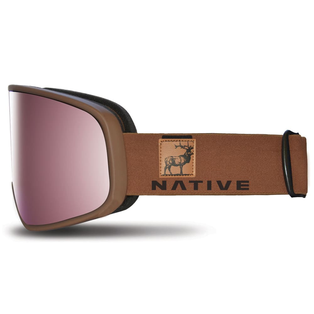 NATIVE EYEWEAR Tenmile Goggles, Exposure/SnowTuned Silver - EXPOSURE