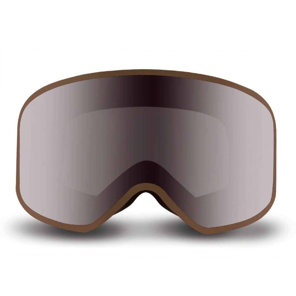 NATIVE EYEWEAR Tenmile Goggles, Exposure/SnowTuned Silver - EXPOSURE