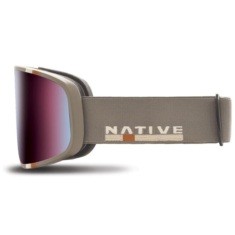 NATIVE EYEWEAR Tenmile Goggles, Insignia/SnowTuned Rose Blue - INSIGNIA