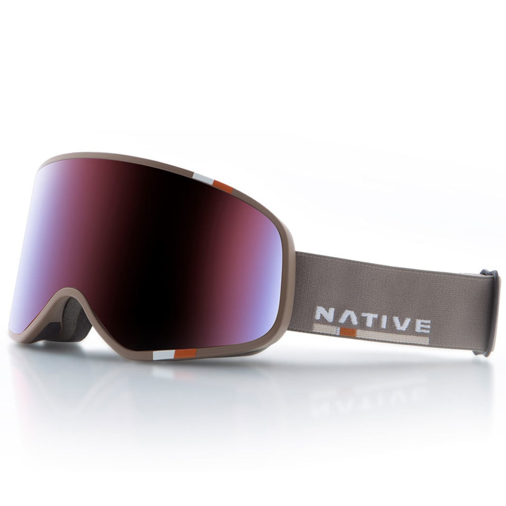 NATIVE EYEWEAR Tenmile Goggles, Insignia/SnowTuned Rose Blue ONE SIZE