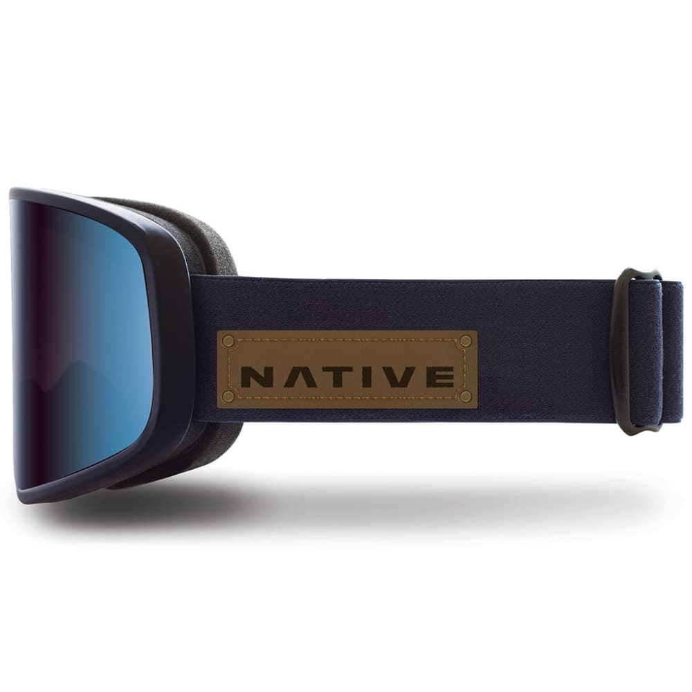 NATIVE EYEWEAR Tenmile Goggles, Serve & Protect, Mirror Blue lens - SERVE AND PROTECT