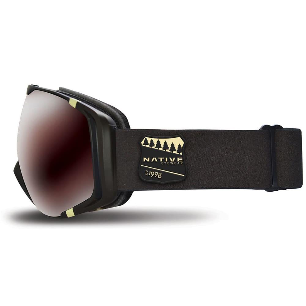NATIVE EYEWEAR Upslope Goggles, Estes/SnowTuned Silver - ESTES
