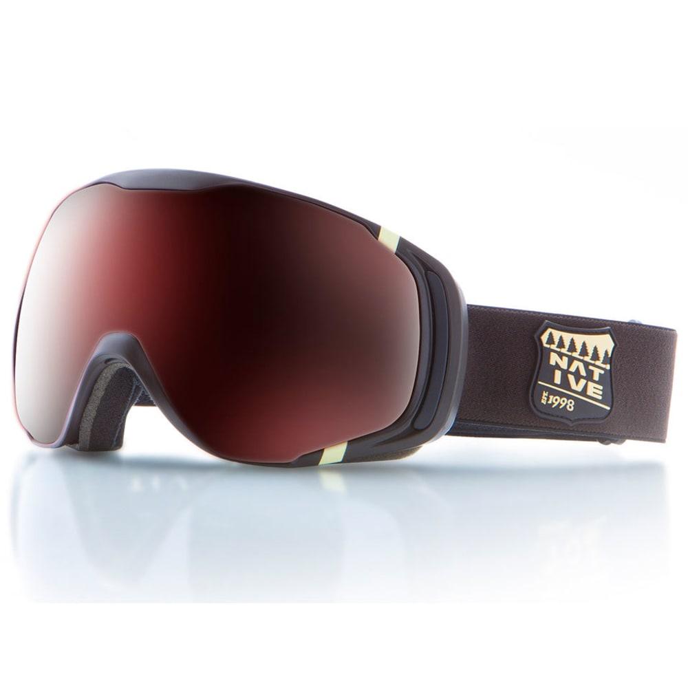 NATIVE EYEWEAR Upslope Goggles, Estes/SnowTuned Silver ONE SIZE