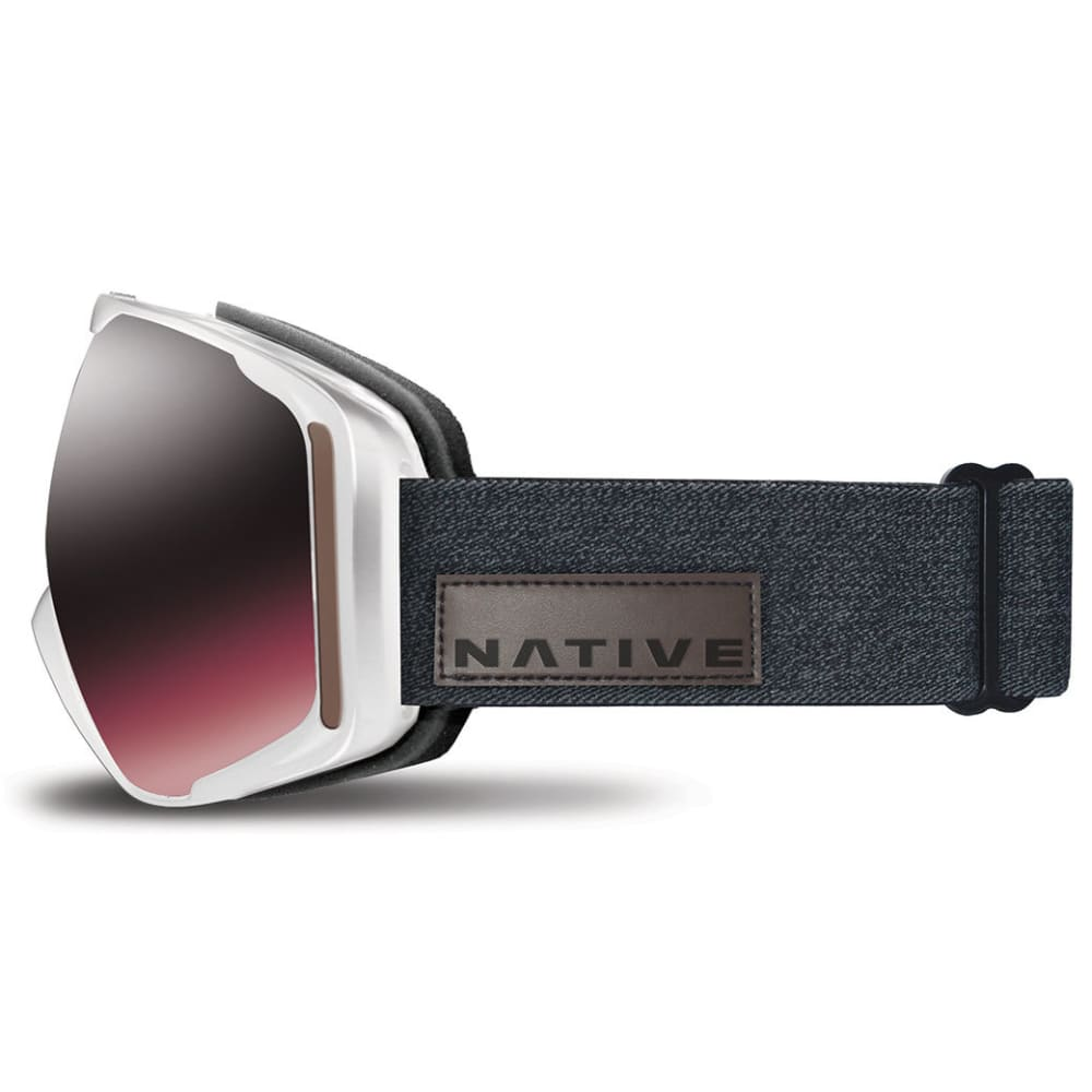 NATIVE EYEWEAR Upslope Goggles, Hesher/SnowTuned Silver - HESHER