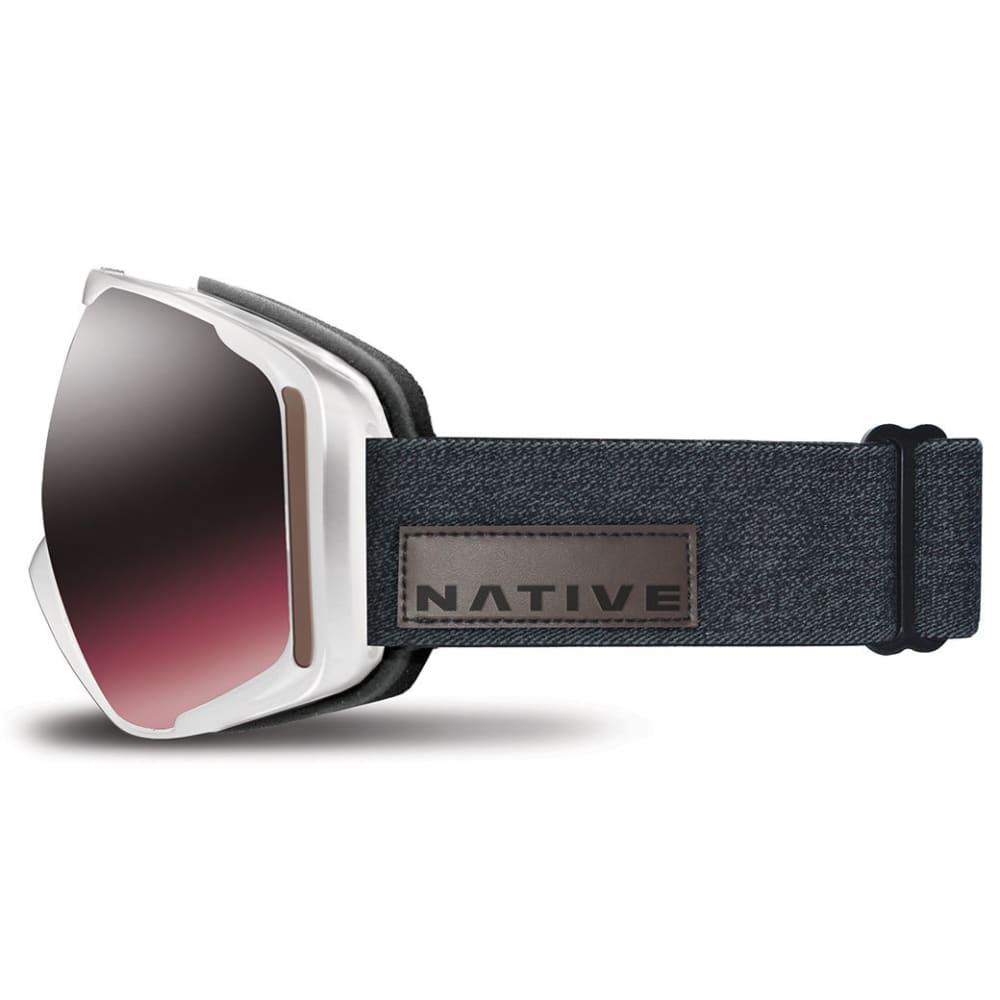 NATIVE EYEWEAR Upslope Goggles, Hesher/SnowTuned Silver - HESHER