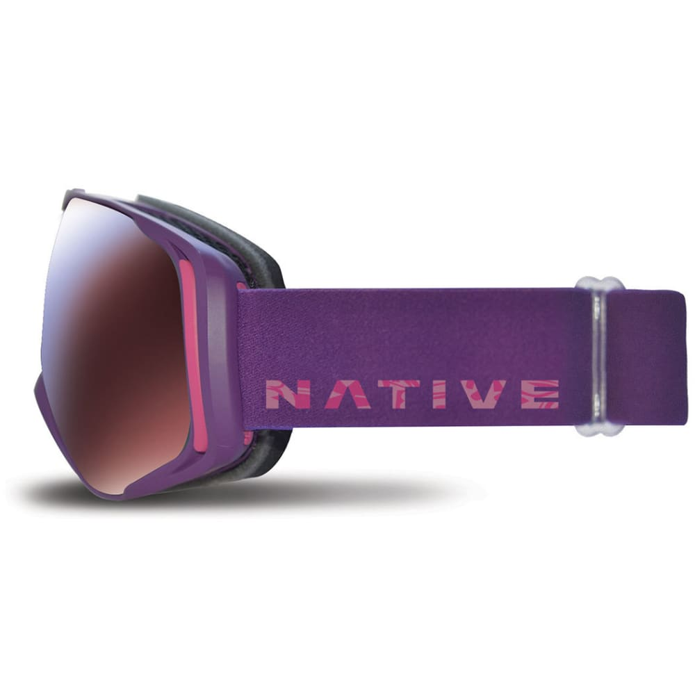 NATIVE EYEWEAR Upslope Goggles, Purple Totem/SnowTuned Rose Blue - PURPLE TOTEM