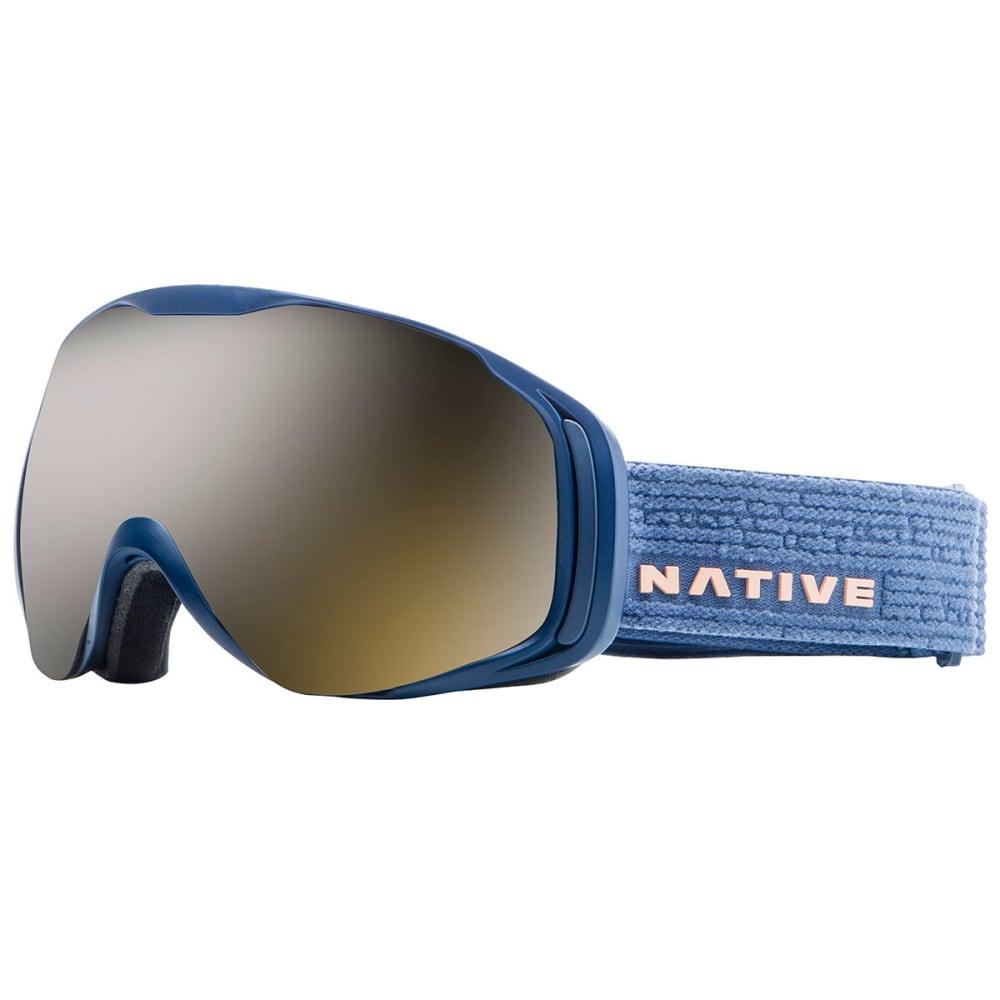 NATIVE EYEWEAR Upslope Goggles, Slate/SnowTuned Silver - SLATE