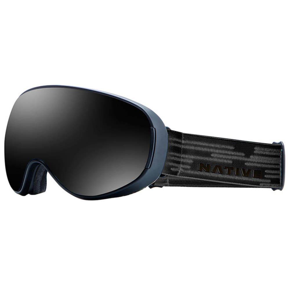 NATIVE EYEWEAR DropZone Goggles, Midnight/Dark Gray - MIDNIGHT