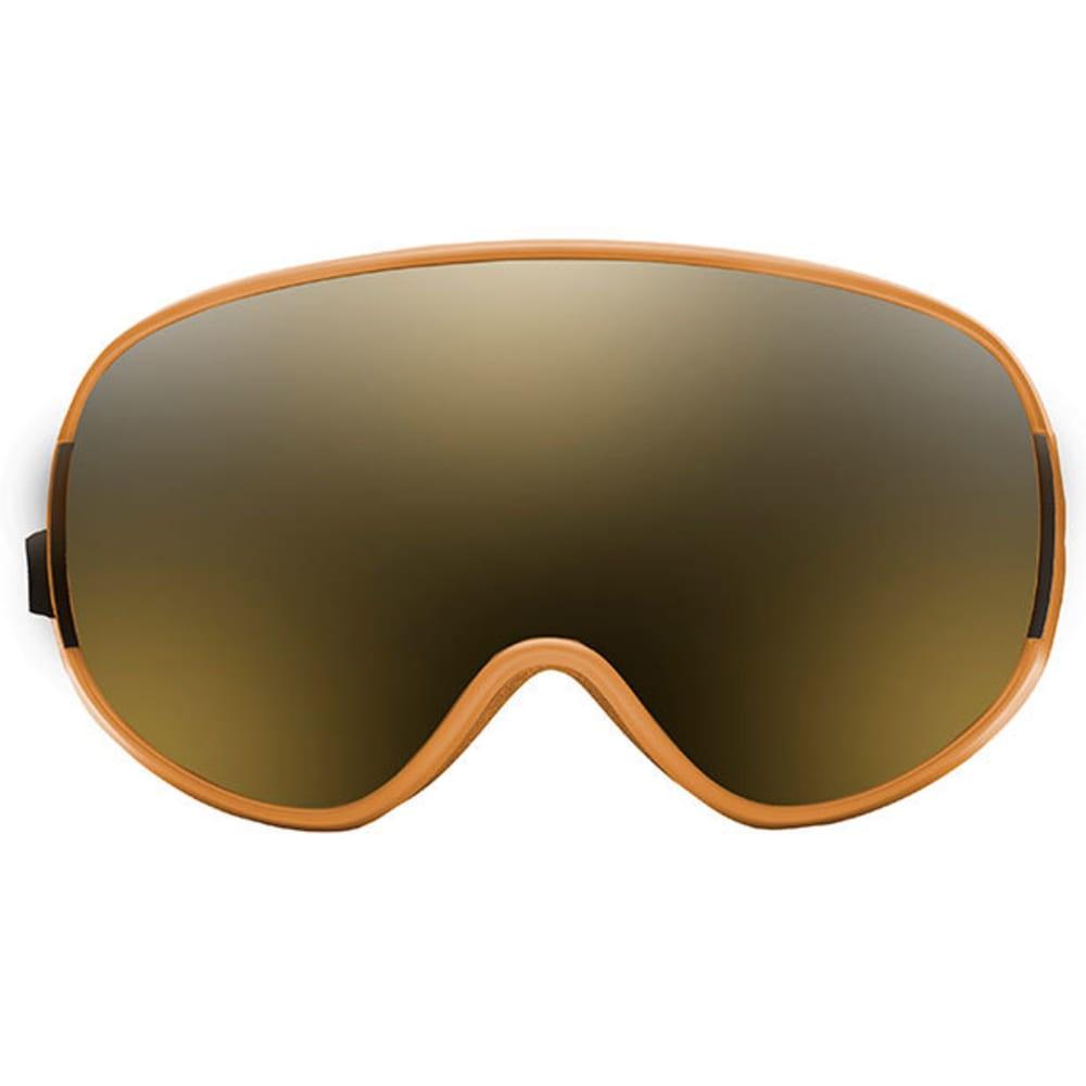 NATIVE EYEWEAR DropZone Snow Goggles, Sierra/SnowTuned Silver Mirror - SIERRA