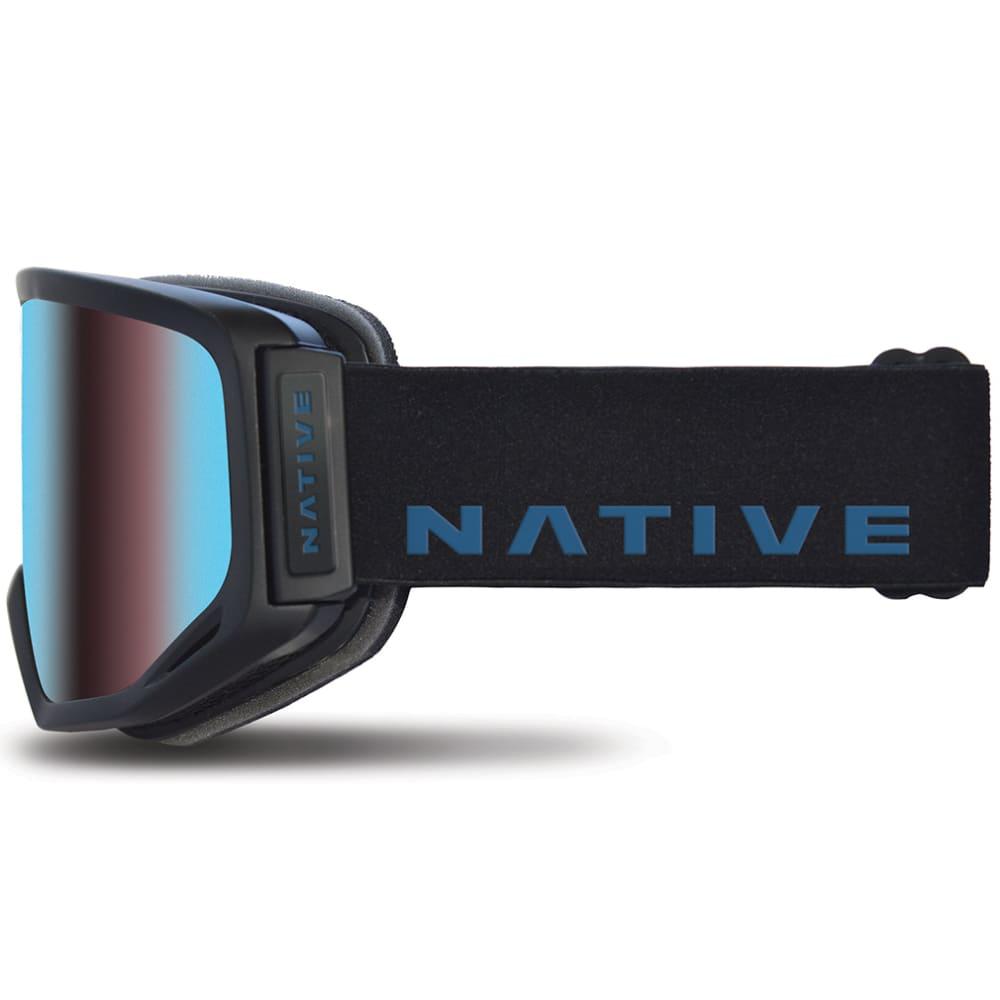 NATIVE EYEWEAR Coldfront goggles, Indigo, Blue Mirror Lens - INDIGO
