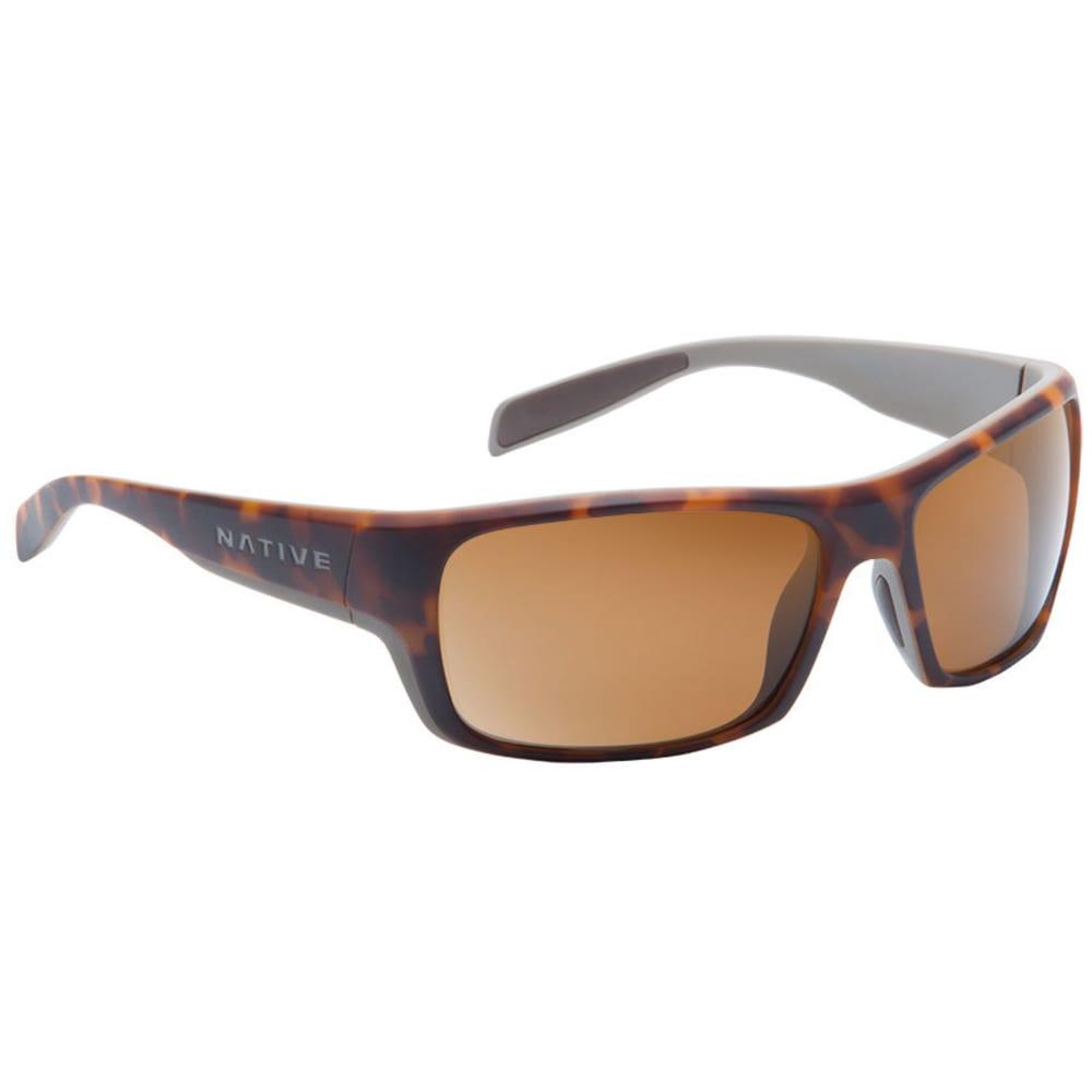 NATIVE EYEWEAR Eddyline Sunglasses, Desert Tort/Brown - DESERT TORT/GRAY