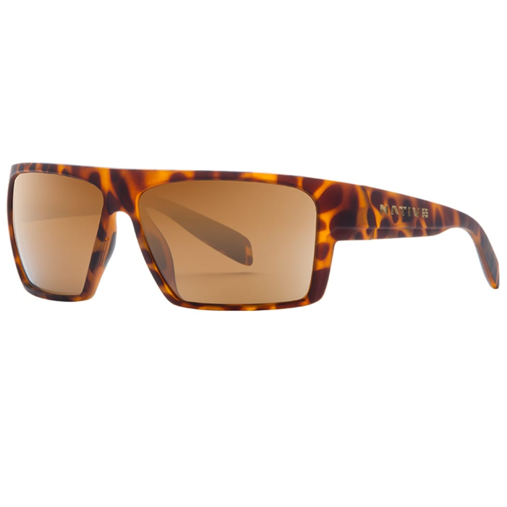 NATIVE EYEWEAR Eldo Sunglasses, Desert Tortoise, Brown Lenses - Desert Tort