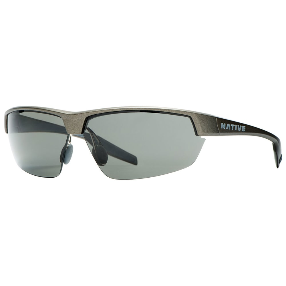 NATIVE EYEWEAR Hardtop UItra Sunglasses, Charcoal/Gray - CHARCOAL