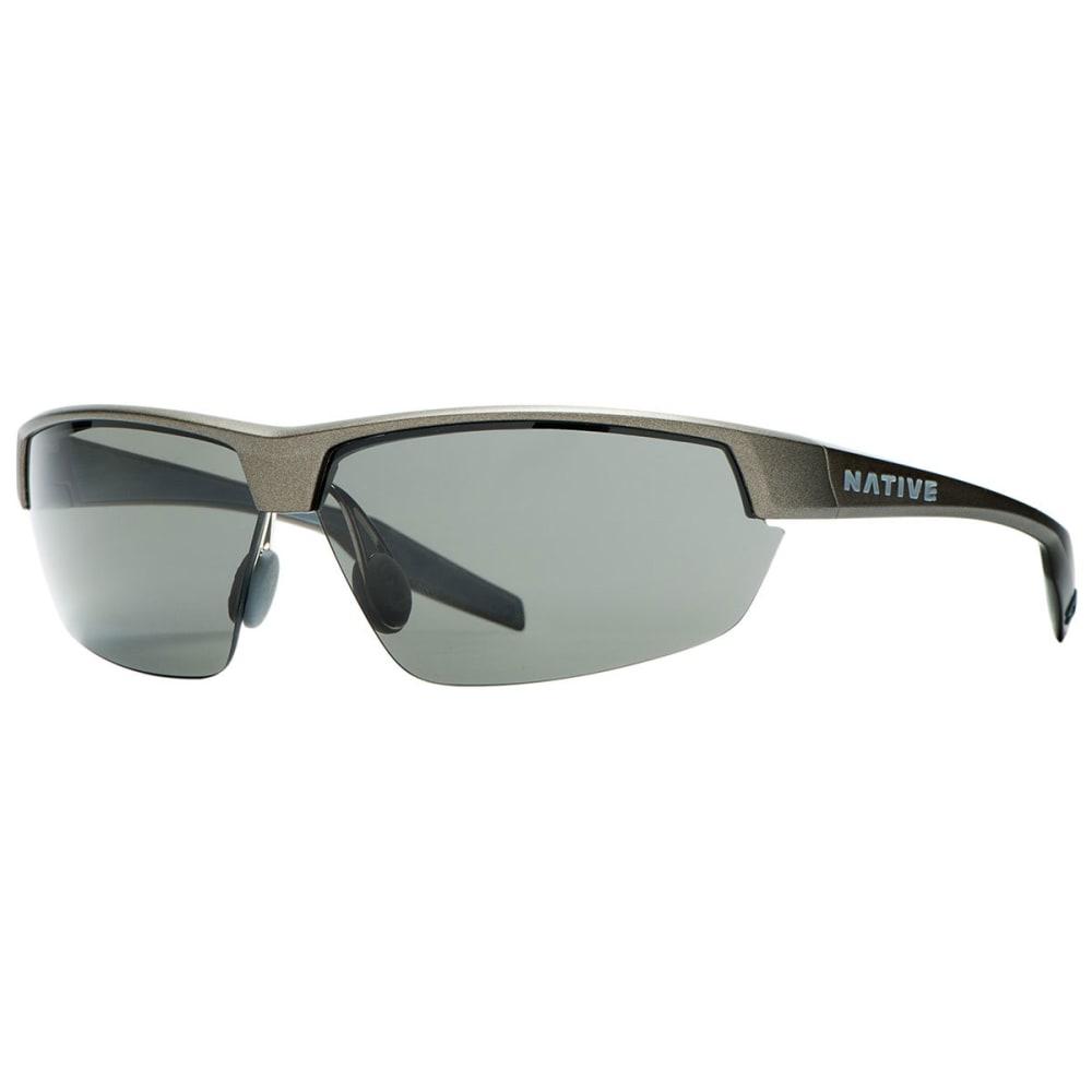 NATIVE EYEWEAR Hardtop UItra Sunglasses, Charcoal/Gray - CHARCOAL