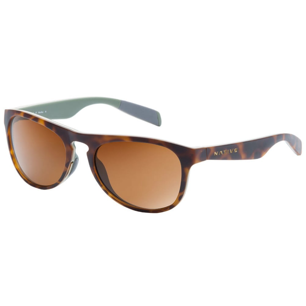 NATIVE EYEWEAR Sanitas Sunglasses, Desert Tort/Brown - Desert Tort