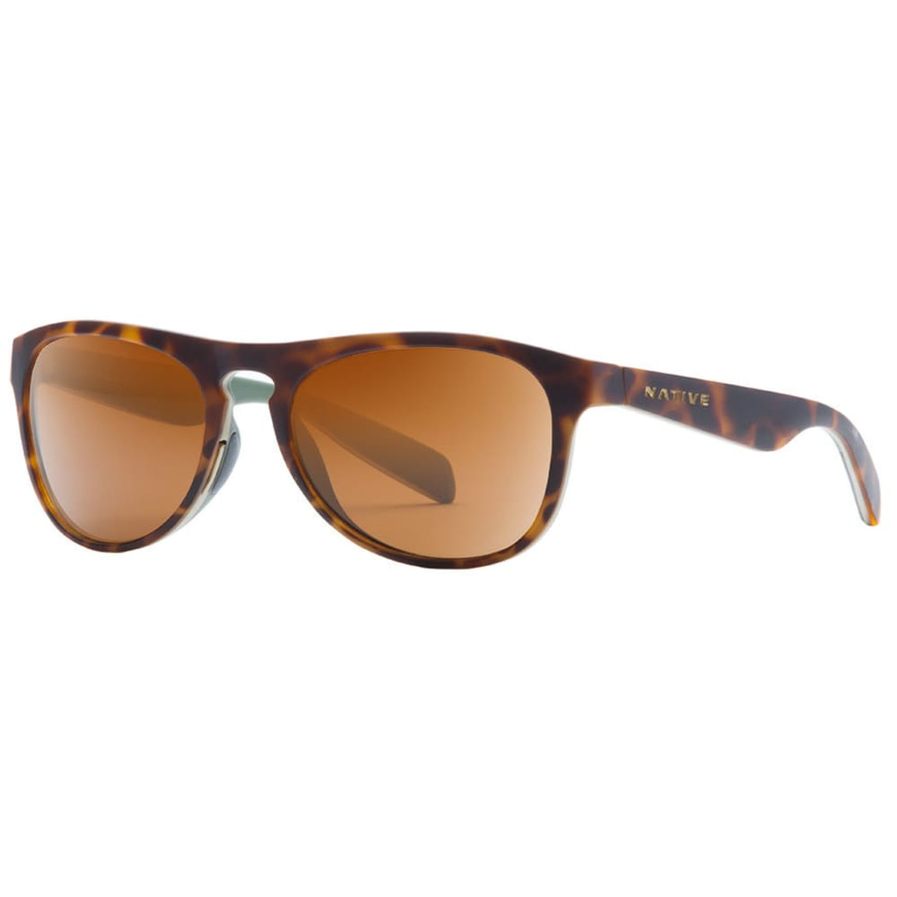 NATIVE EYEWEAR Sanitas Sunglasses, Desert Tort/Brown ONE SIZE