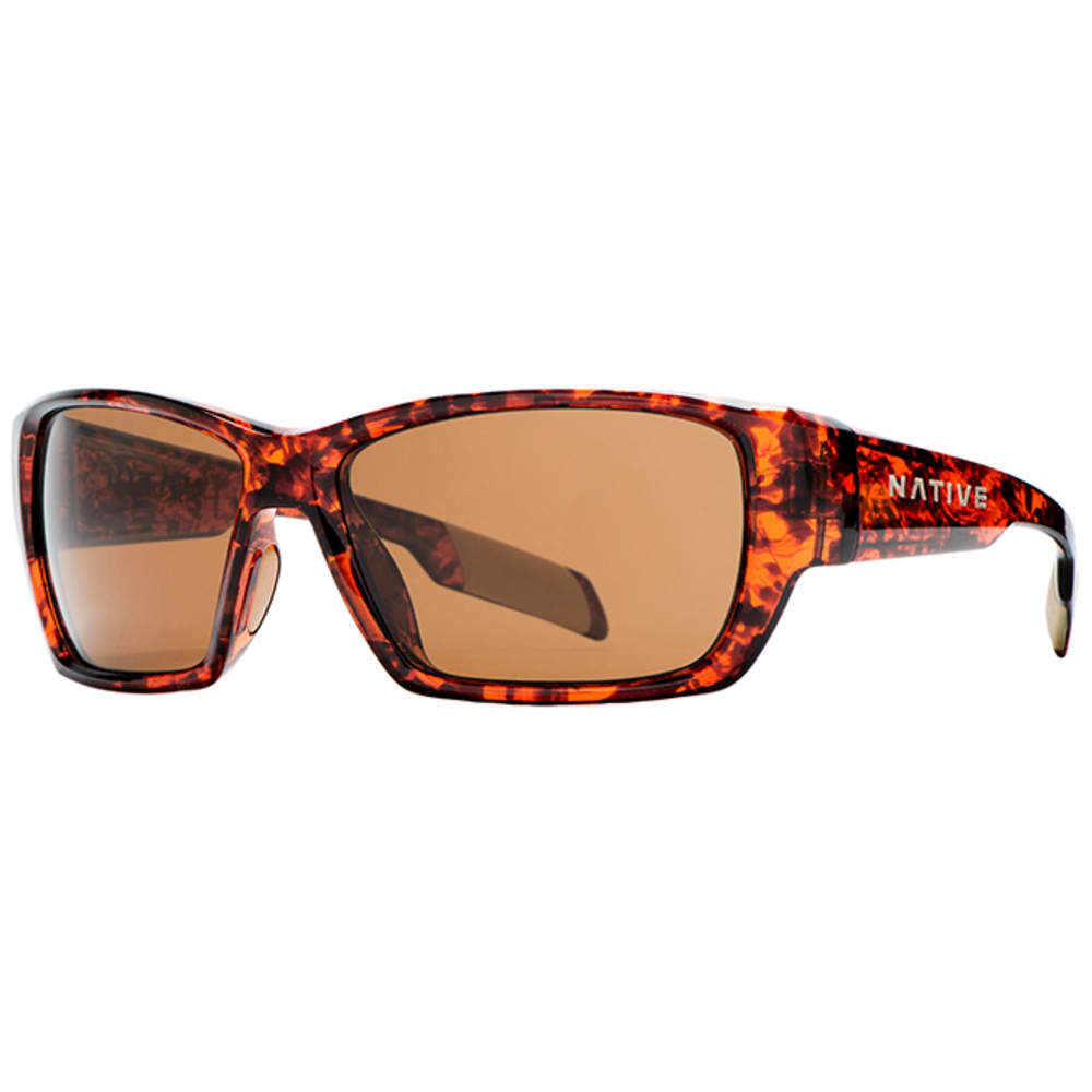 NATIVE EYEWEAR Ward sunglasses, Maple Tortoise, Brown Lens - MAPLE TORT