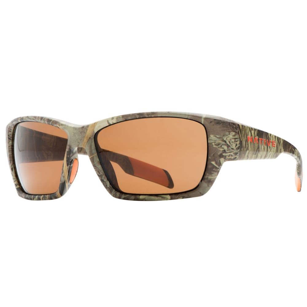 NATIVE EYEWEAR Ward sunglasses, Realtree MAX-1 Camo, Brown lens - CAMO MAX 1