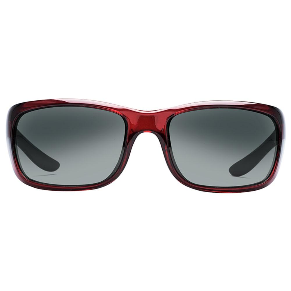 NATIVE EYEWEAR Kannah Sunglasses, Crimson, Gray Lens - CRIMSON