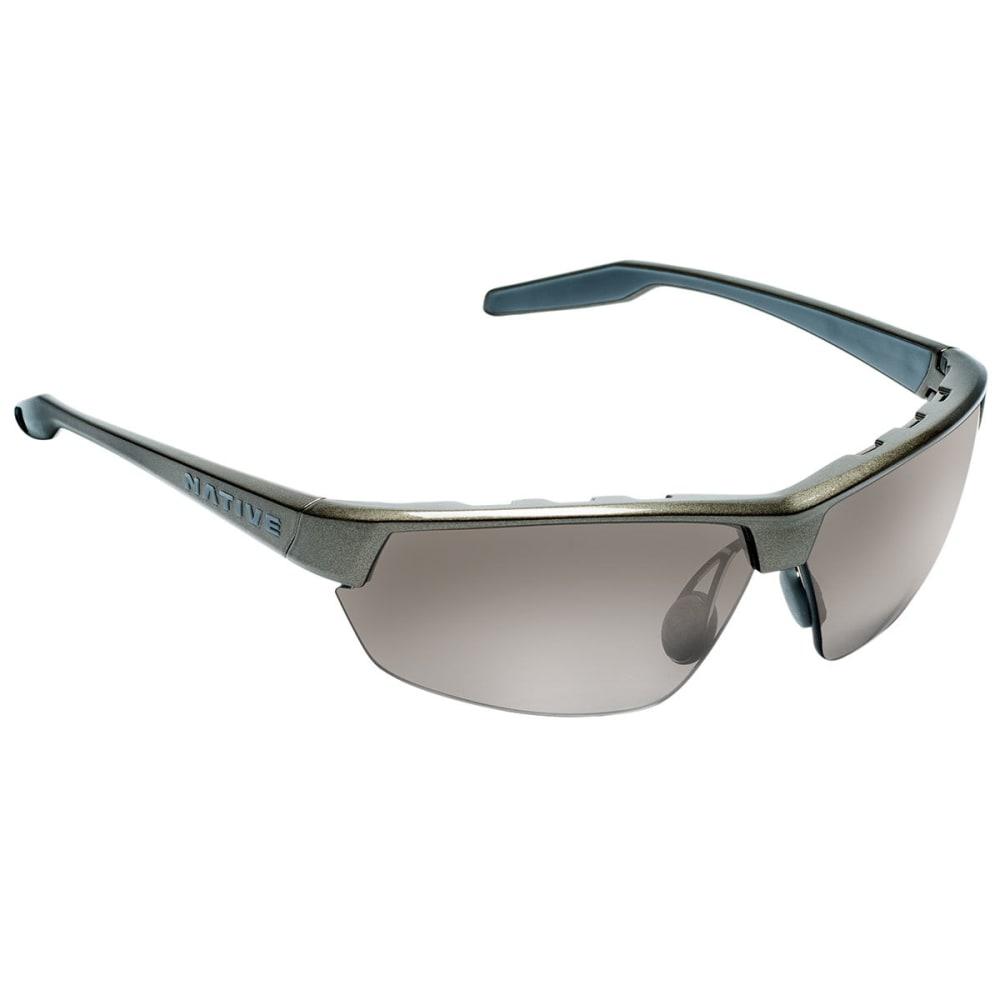 NATIVE EYEWEAR Hardtop Ultra Sunglasses, Gunmetal/Silver Reflex - GUNMETAL