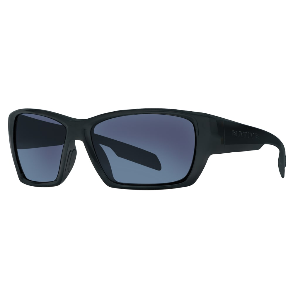 NATIVE EYEWEAR Ward Sunglasses Matte Black/Blue Reflex - MATTE BLACK