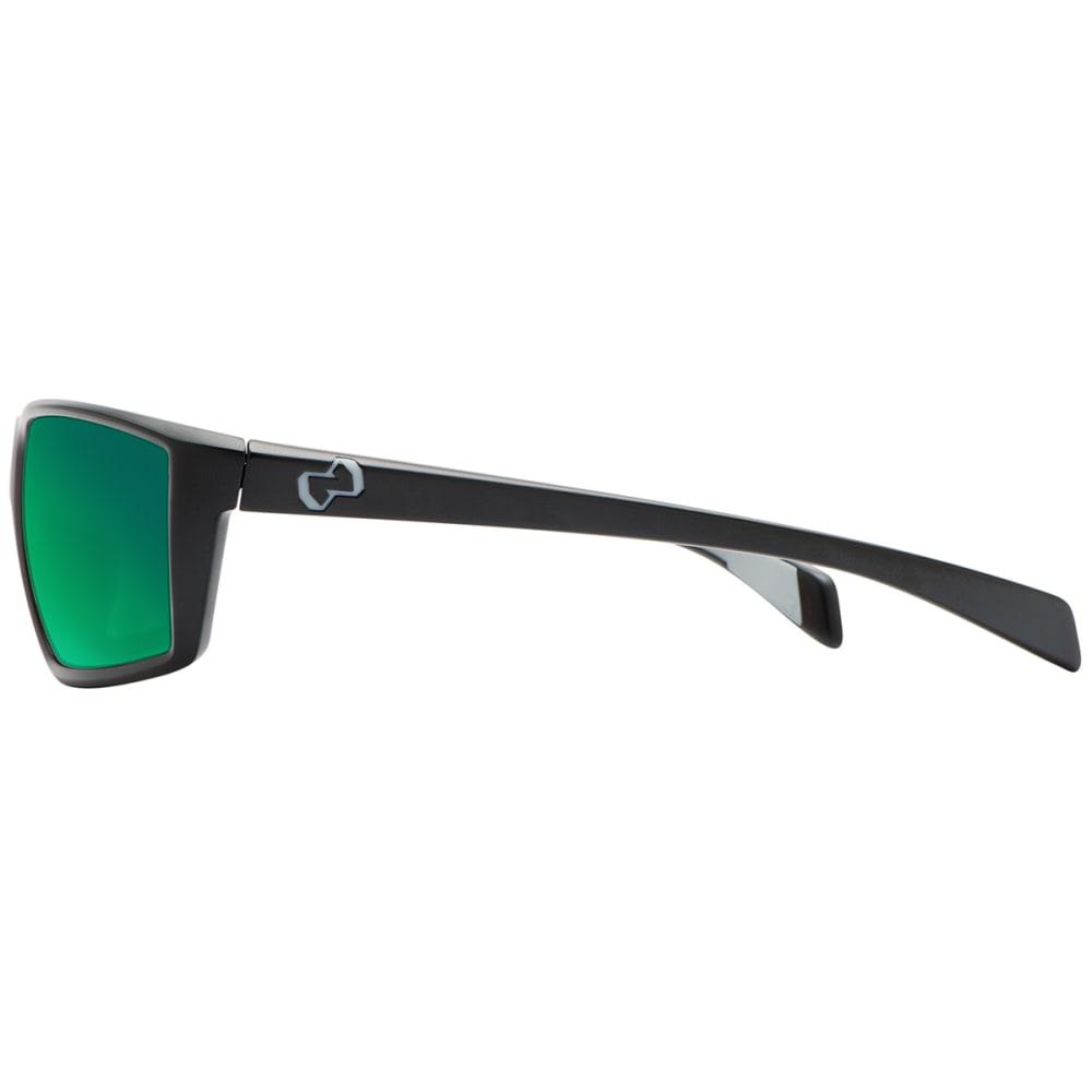 NATIVE EYEWEAR Sidecar Sunglasses, Matte Black/Green Reflex - MATTE BLACK