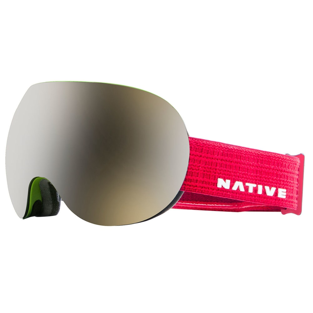NATIVE EYEWEAR Backbowl Goggles, Patrol - SnowTuned Silver - PATROL