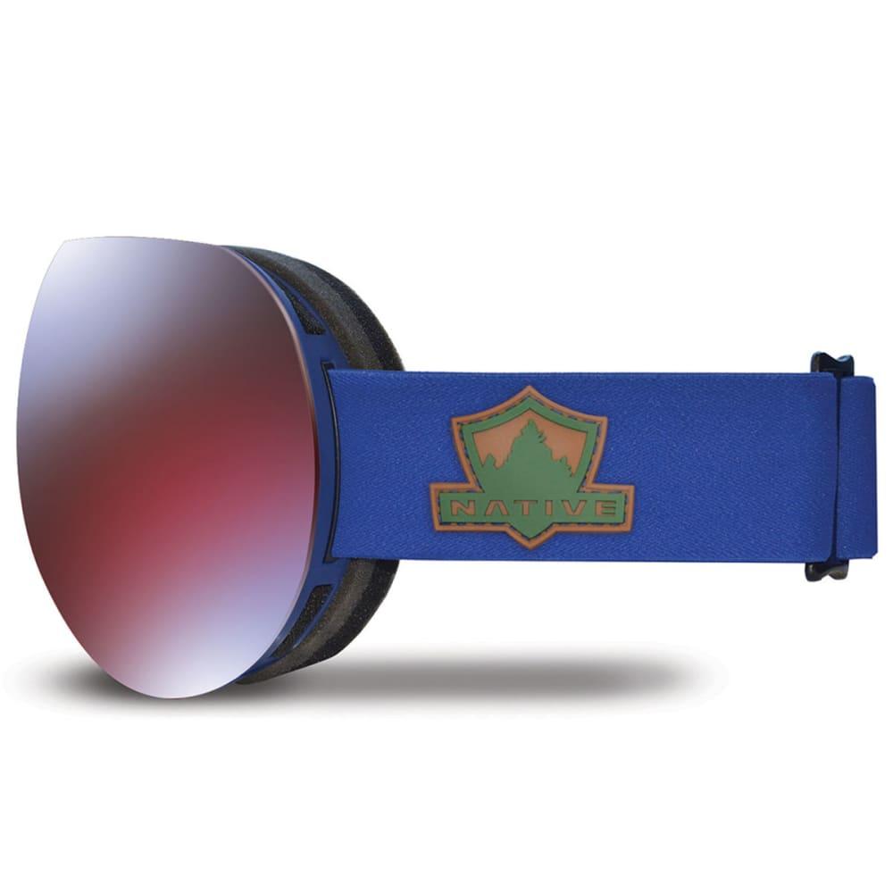 NATIVE EYEWEAR Backbowl Goggles, Ranger/Rose Blue - RANGER