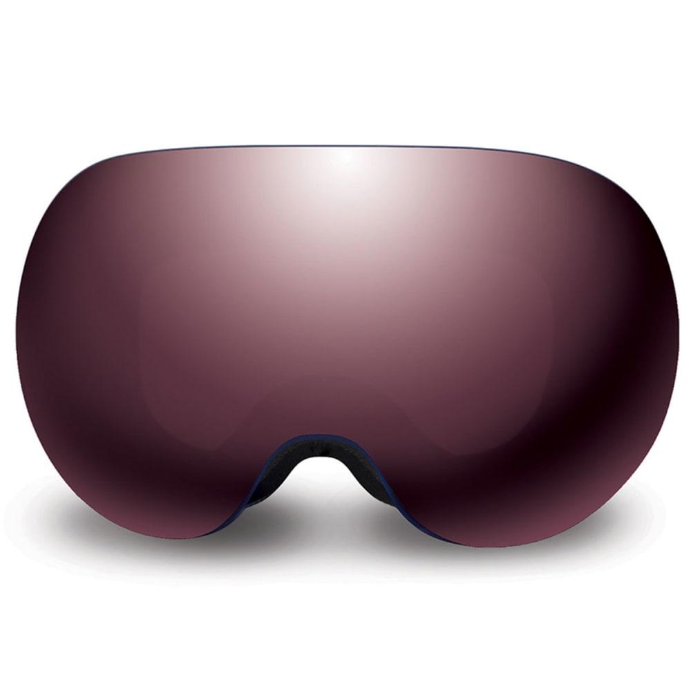 NATIVE EYEWEAR Backbowl Goggles, Timber/Silver - TIMBER