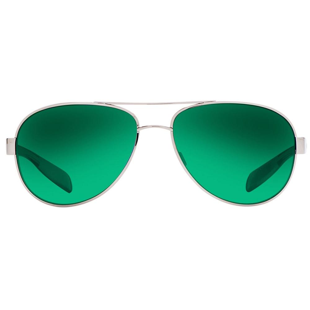 NATIVE EYEWEAR Patroller Sunglasses Chrome/Gloss Black, Silver Reflex - CHROME/GLOSS BLACK