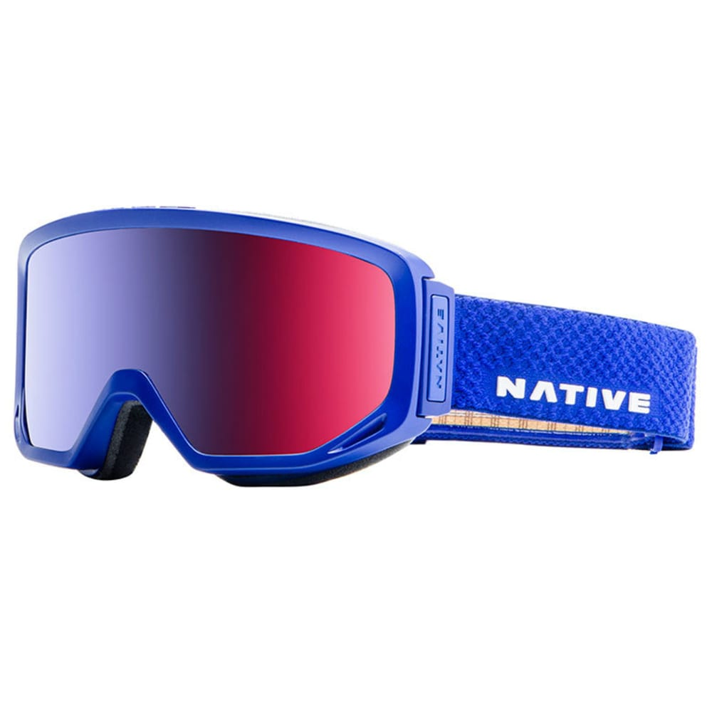 NATIVE EYEWEAR Coldfront Goggles, Admiral - SnowTuned Rose Blue - ADMIRAL