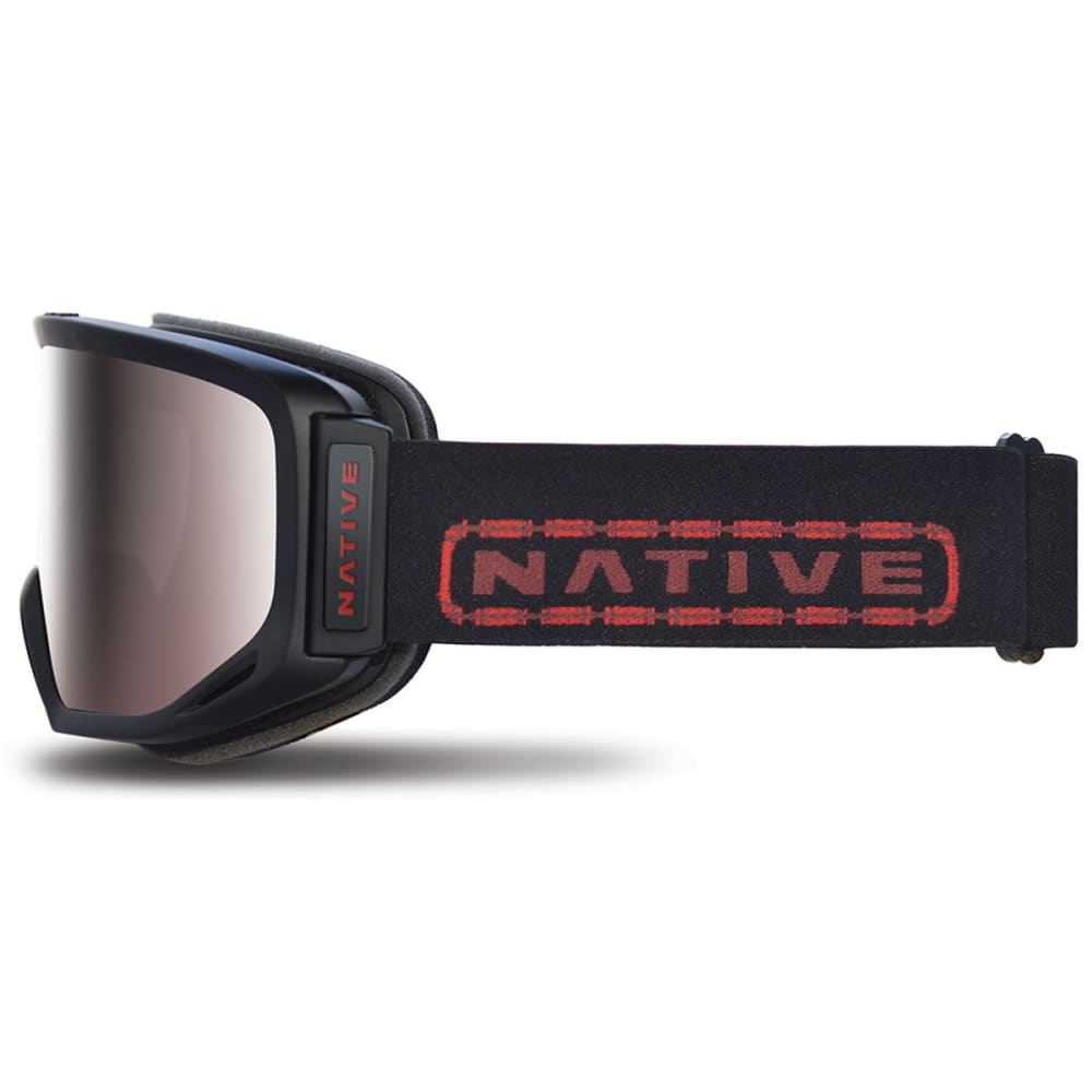 NATIVE EYEWEAR Coldfront Goggles, Tartan/SnowTuned React Rose - TARTAN