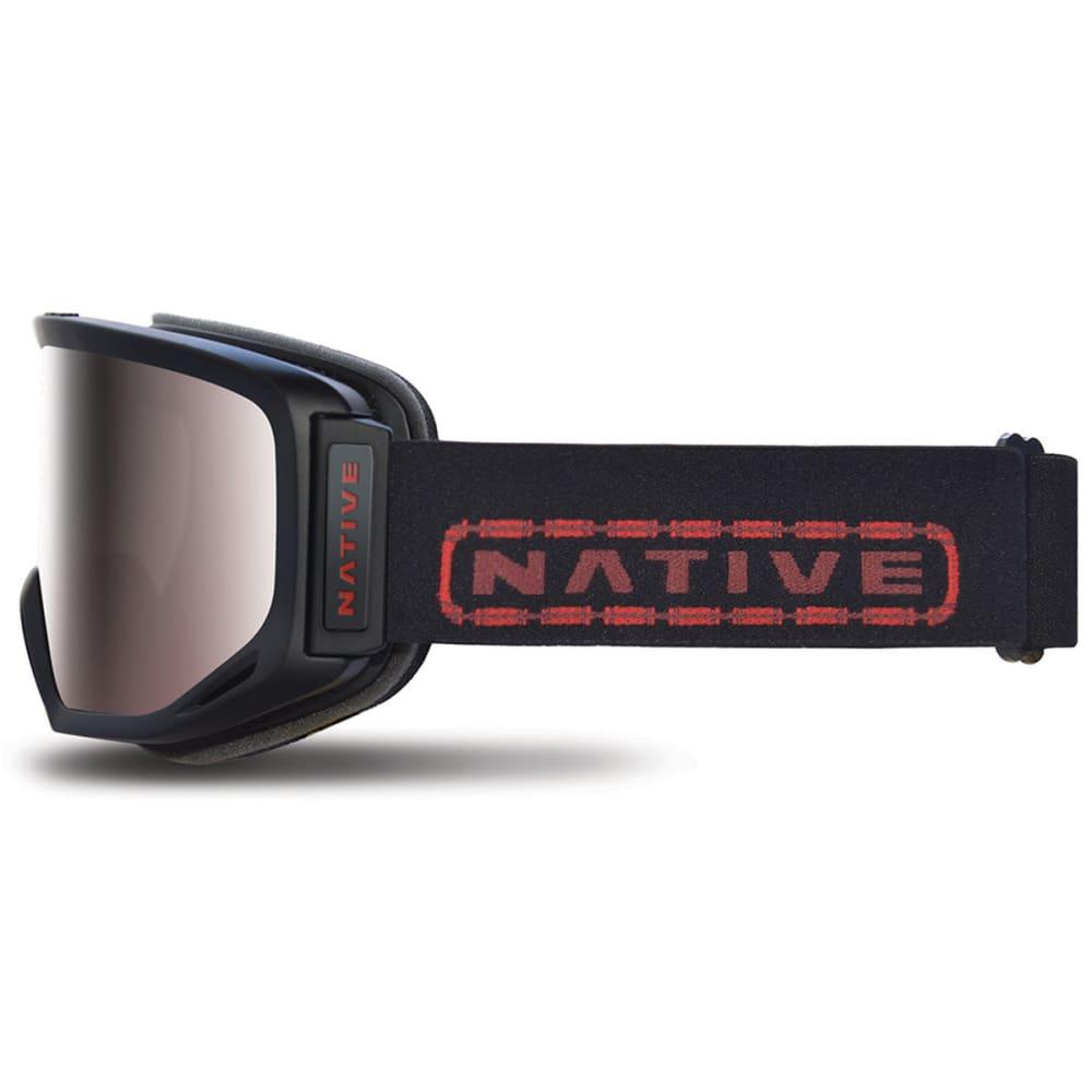 NATIVE EYEWEAR Coldfront Goggles, Tartan/SnowTuned React Rose - TARTAN