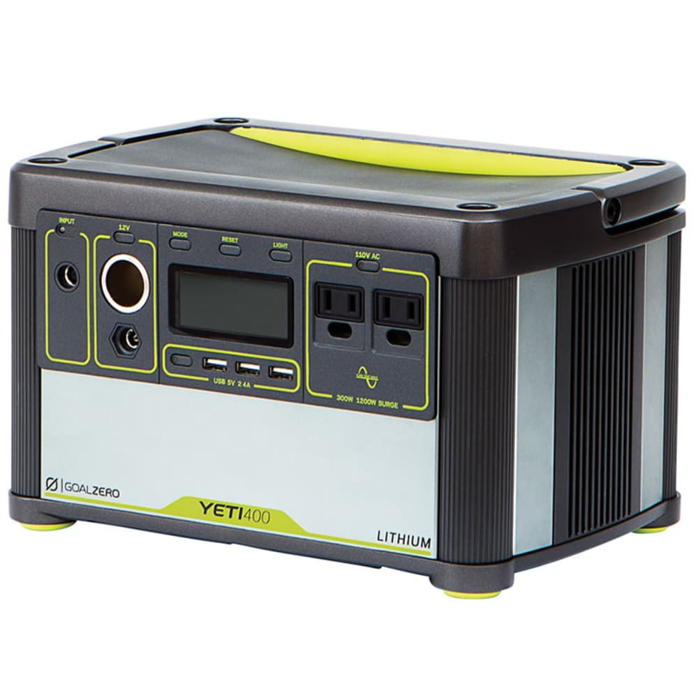 GOAL ZERO Yeti 400 Lithium Portable Power Station - NO COLOR