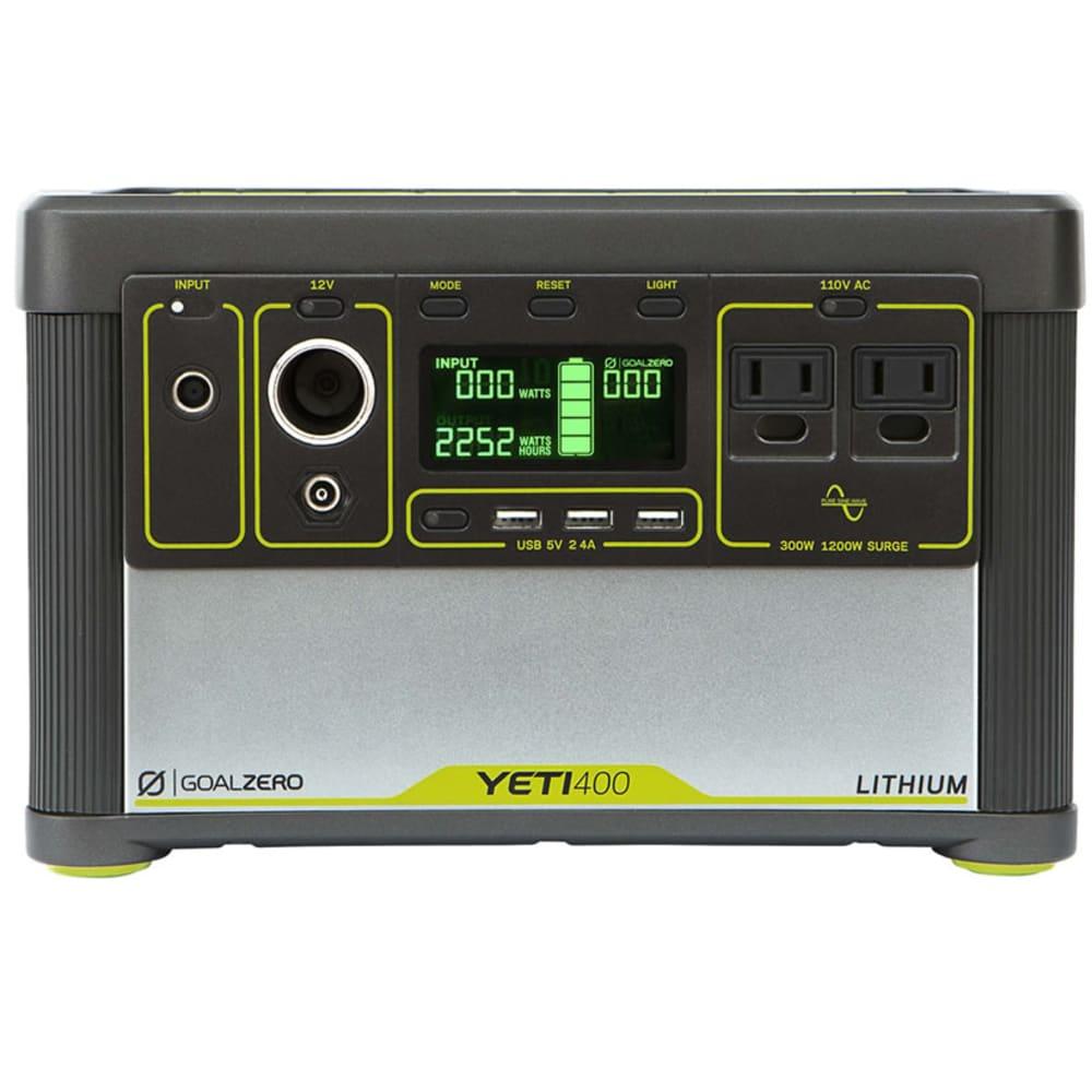 GOAL ZERO Yeti 400 Lithium Portable Power Station - NO COLOR