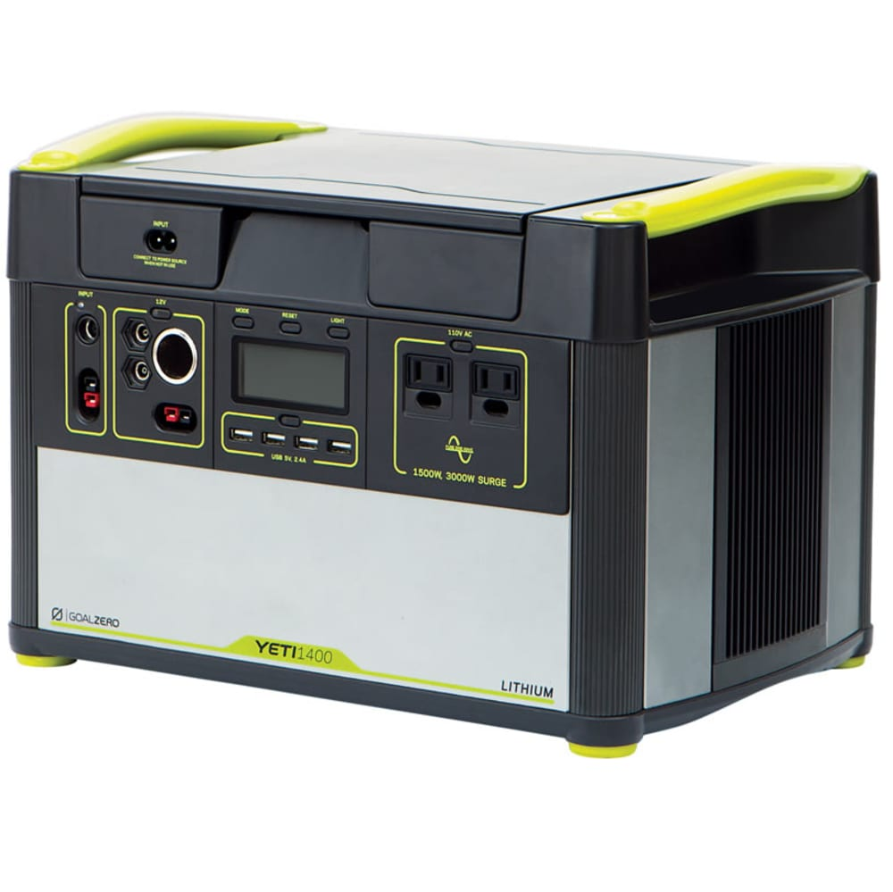 GOAL ZERO Yeti 1400 Lithium Portable Power Station - NO COLOR