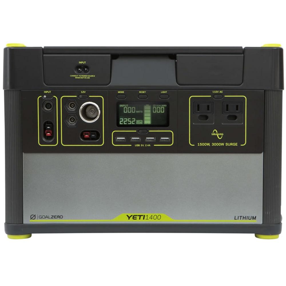 GOAL ZERO Yeti 1400 Lithium Portable Power Station - NO COLOR