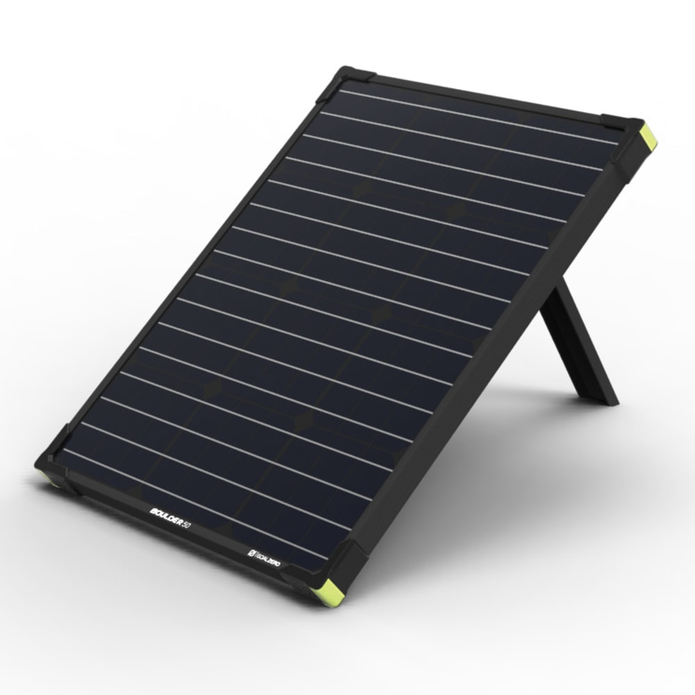 GOAL ZERO Boulder 50 Solar panel - NO COLOR
