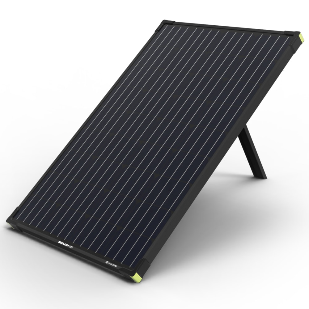 GOAL ZERO Boulder 100 Solar Panel - NO COLOR