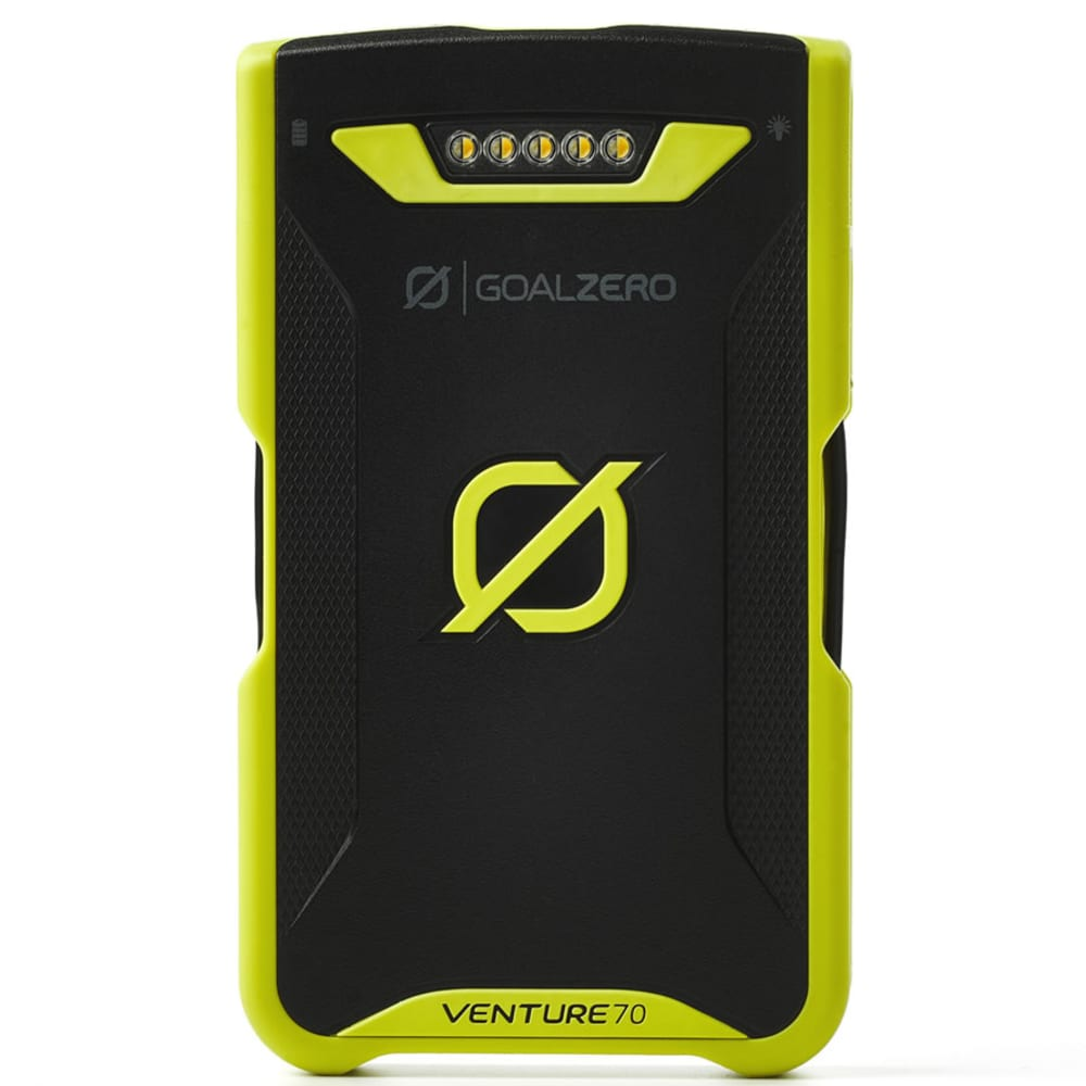 GOAL ZERO Venture 70 Recharger (1 USB, 1 Lightning) - NO COLOR