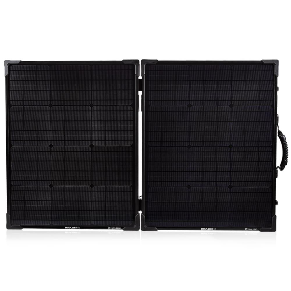 GOAL ZERO Yeti 1250 Power Station w/ Boulder 100 Briefcase Solar Panel Bundle - NO COLOR