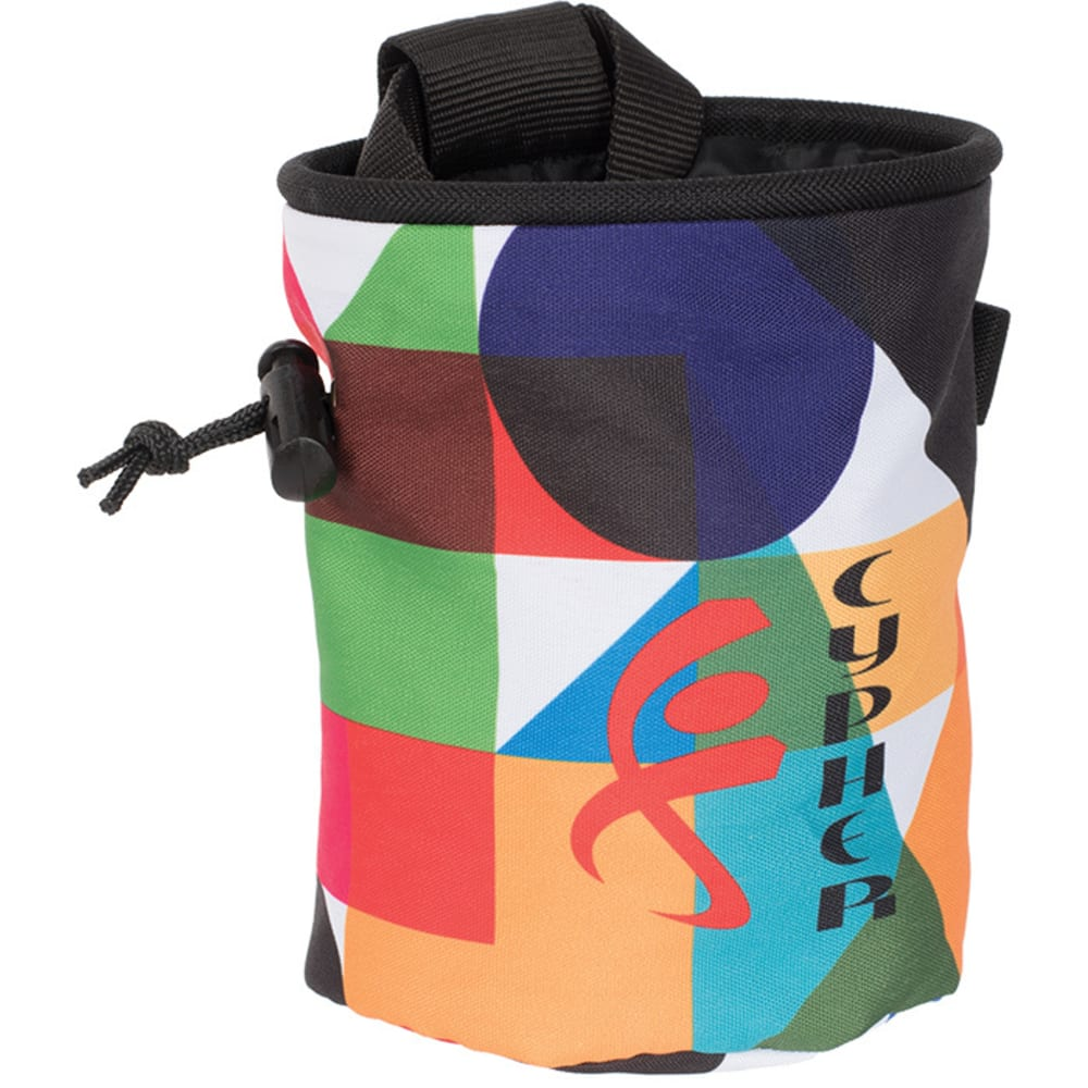 CYPHER Printed Chalk Bag - SHAPES