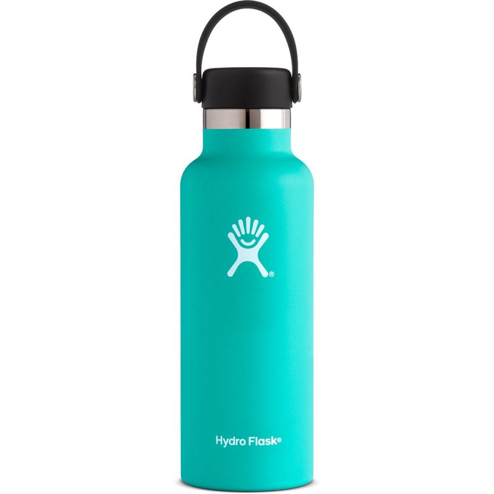 HYDRO FLASK 18 oz. Standard Mouth Water Bottle with Flex Cap - MINT S18SX435