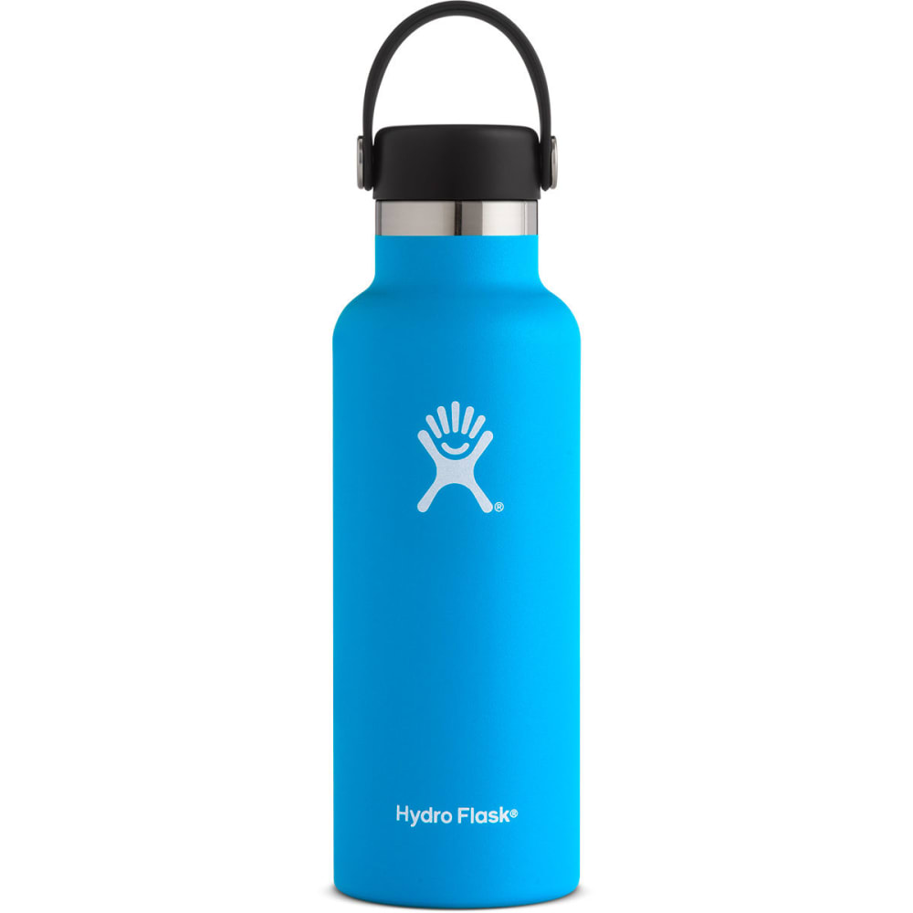 HYDRO FLASK 18 oz. Standard Mouth Water Bottle with Flex Cap - PACIFIC S18SX415