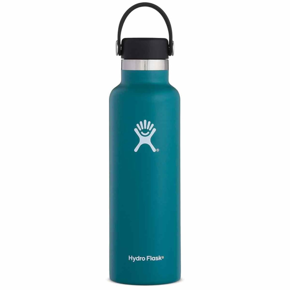 HYDRO FLASK 21 oz. Standard Mouth Water Bottle with Flex Cap - JADE