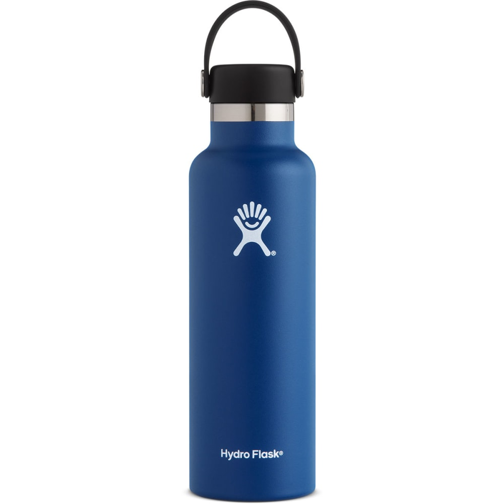 HYDRO FLASK 21 oz. Standard Mouth Water Bottle with Flex Cap - COBALT S21SX407