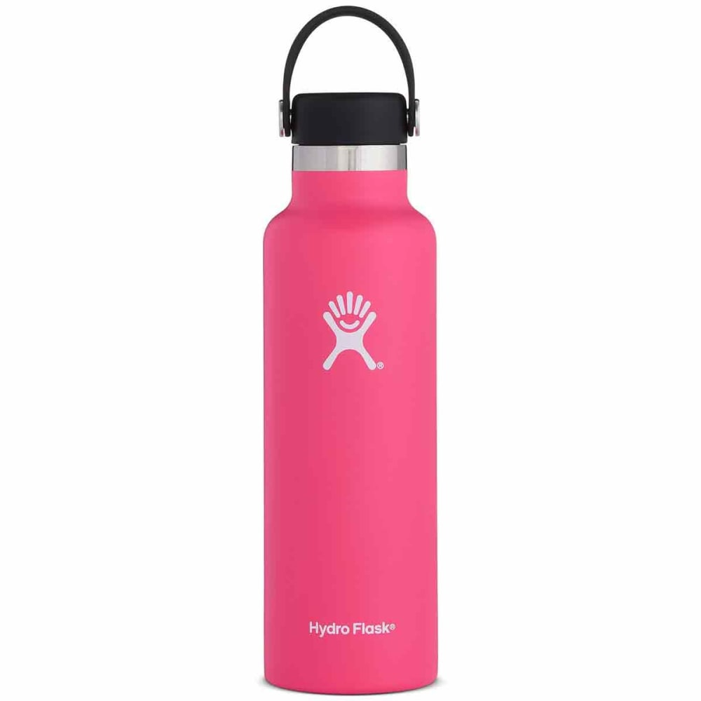 HYDRO FLASK 21 oz. Standard Mouth Water Bottle with Flex Cap - WATERMELON