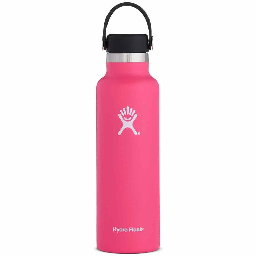 HYDRO FLASK 21 oz. Standard Mouth Water Bottle with Flex Cap - WATERMELON