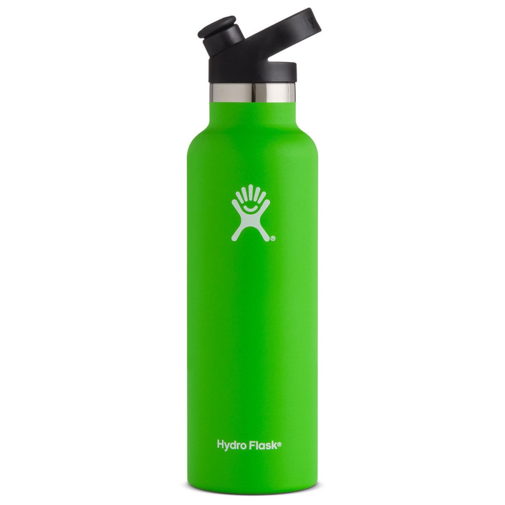 HYDRO FLASK 21 oz. Standard Mouth Water Bottle with Sport Cap - KIWI S21ST320