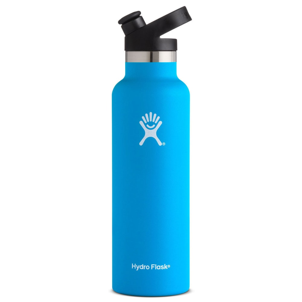HYDRO FLASK 21 oz. Standard Mouth Water Bottle with Sport Cap - PACIFIC S21ST415